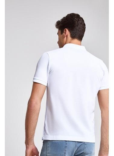 D'S Damat Tişört Beyaz